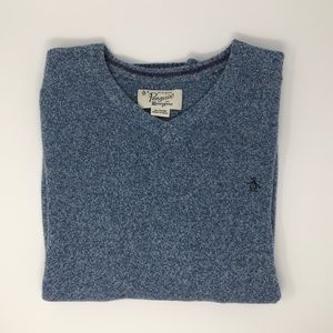 Original Penguin V-Neck Sweater Size XL